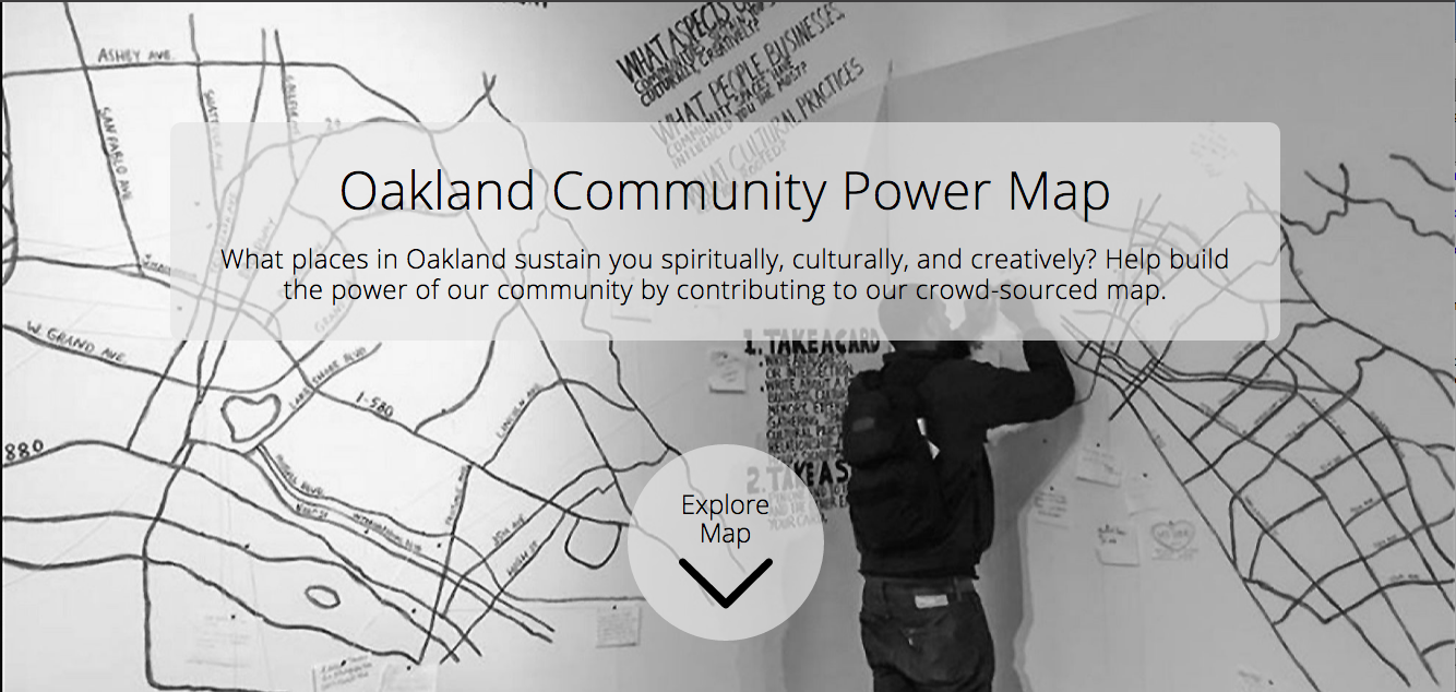 Oakland Community Power Map
